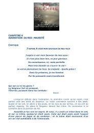 Chap 6 : Adoration du Roi - Alleluia France
