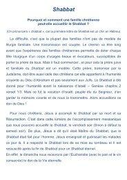 Shabbat - Alleluia France