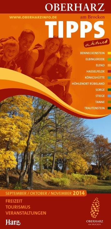 TIPPSaktuel Herbstausgabe