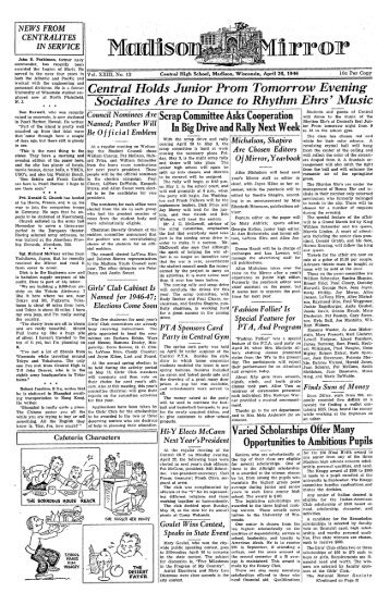 April 26, 1946 (The Madison Mirror, 1925 - 1969)