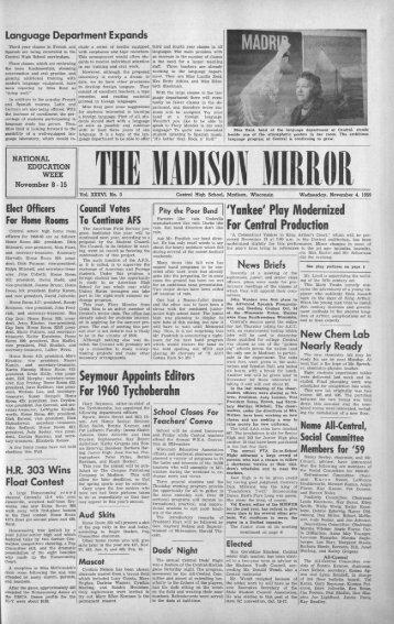 November 4, 1959 (The Madison Mirror, 1925 - 1969)