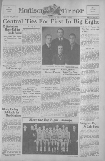 March 17, 1939 (The Madison Mirror, 1925 - 1969) - Dane County ...