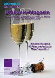 Diakonie-Magazin Nr.: 40 (909,46 kb) - Diakonie Schweinfurt