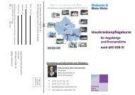 weiterer Flyer zum Thema - Diakonie Schweinfurt