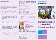 Flyer herunterladen - Diakonie Schweinfurt