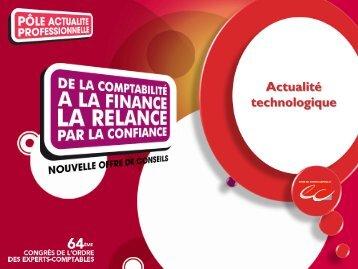 Actualité technologique - Conseil Supérieur de l'Ordre des Experts ...