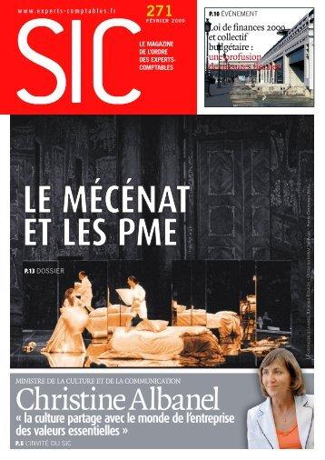 sic271fevrier2009 .pdf - Conseil Supérieur de l'Ordre des Experts ...
