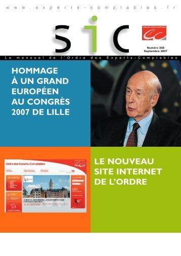 hommage à un grand européen au congrès 2007 de lille le nouveau ...