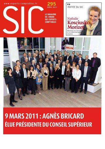 9 mars 2011 - Conseil Supérieur de l'Ordre des Experts-Comptables