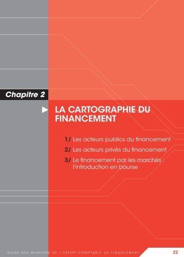 La cartographie des acteurs du financement - Conseil Supérieur de l ...