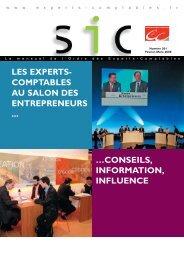 les experts - Conseil Supérieur de l'Ordre des Experts-Comptables