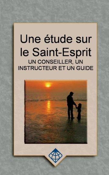 Une étude sur le Saint-Esprit : un conseiller, un ... - Global University