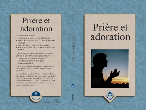 Prière et adoration - Global University