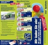 flyer geisseestrasse.. - easy Apotheke