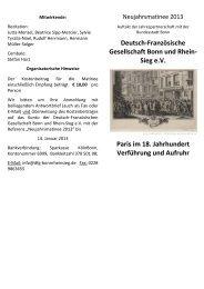 Sieg eV Paris im 18. Jahrhundert Verführung und Aufruhr - Deutsch ...