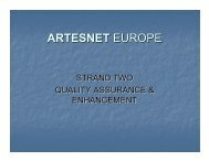 ARTESNET EUROPE - Elia