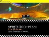Strand 1 Eric Holtman HKU Xchange Projects.pdf - Elia