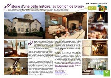 Le Donjon de Droizy - Esprit de Picardie