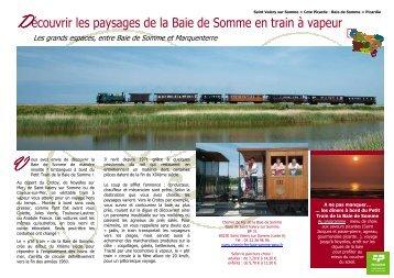 P'tit train de la baie de Somme - Comité Régional Tourisme de ...