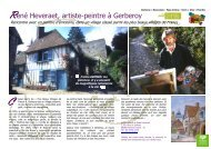 René Heveraet, artiste-peintre à Gerberoy