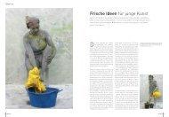 Frische Ideen für junge Kunst - Galerie p13