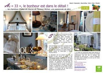 Au « 33 - Comité Régional Tourisme de Picardie