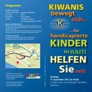 Flyer - Kiwanis