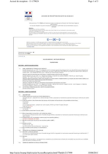Page 1 of 3 Accusé de reception - 11-179624 03/08/2011 http ...