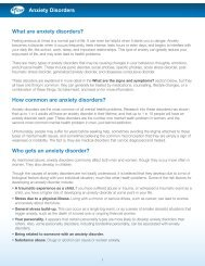 How common are anxiety disorders? Who gets an anxiety ... - Pfizer.ca