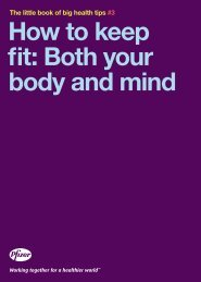 How to keep fit: Both your body and mind - Pfizer.ca