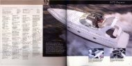 Cruisers Yachts 3372 Sales/Specs (2003 Catalog) - Cruisers Owners BLOG