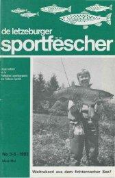 Weltrekord aus dem Echternacher See?