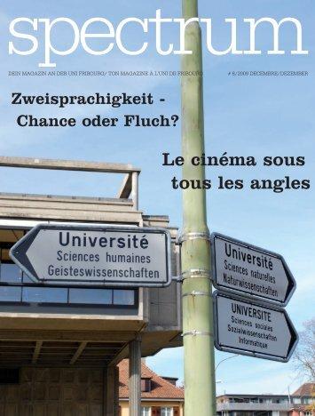 Le cinéma sous tous les angles - Micromus - Université de Fribourg
