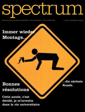 Spectrum - Micromus - Université de Fribourg