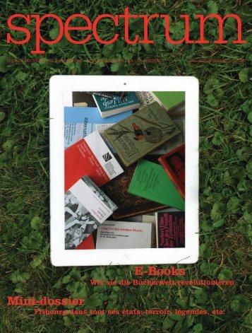 Mini-dossier E-Books - Université de Fribourg