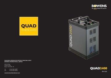 Quad 2400 - Bowens