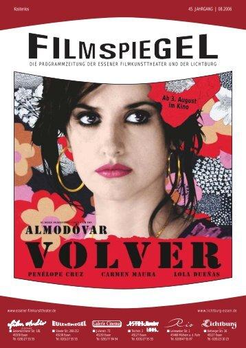 Ab 3. August im Kino - Essener Filmkunsttheater GmbH