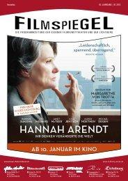 HANNAH ARENDT - Essener Filmkunsttheater GmbH