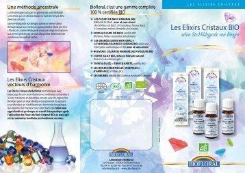 Les Elixirs Cristaux BIO - Biofloral