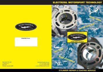 ELECTROSIL MOTORSPORT TECHNOLOGY