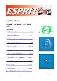 Uygulama Kılavuzu Oto Cam Tamir Sistemi (Elit & Klasik kitler)