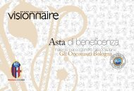Asta di beneficenza - Visionnaire Home Philosophy
