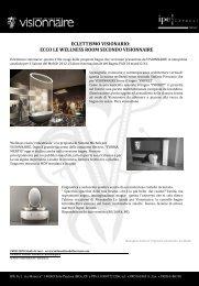 Salone Internazionale del Bagno - Visionnaire