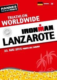 Hannes Hawaii Tours - IM Lanzarote 2015 - DE