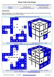 Morse Code Cube Design - mementoslangues.fr