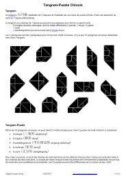 Tangram-Puzzle Chinois - mementoslangues.fr
