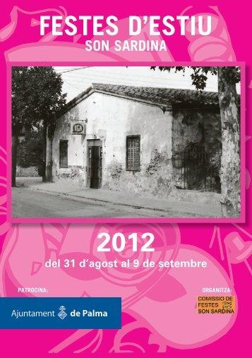 FESTES D'ESTIU 2012 - Ajuntament de Palma