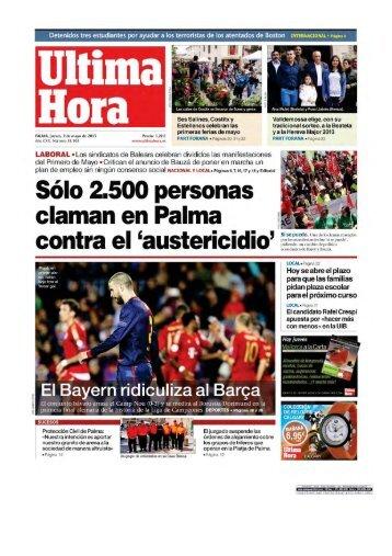 Kiosko y Más - Última Hora - 2 may 2013 - Page #1 - Ajuntament de ...