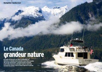Le Canada - San Juan Sailing