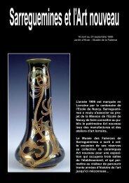 Sarreguemines et l'art nouveau - MuSées de Sarreguemines